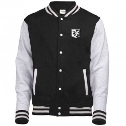 Veste TEDDY_H-F - MIXTE - BLACK - Logo White